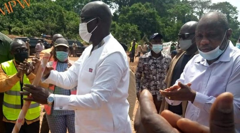 Pres. Weah breaks ground for Mini hydro in Rivergee