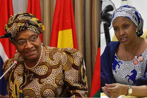 """Be More Bothered About The Billions Missing"" – Nigerians React As Ellen Johnson Sirleaf Tweets About Port Boss, Hadiza Bala Usman's Probe"